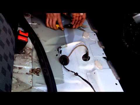 Снятие бензонасоса Ford Focus 2