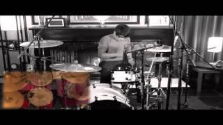 Brian Garcia on drums