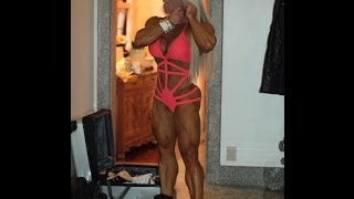 getlinkyoutube.com-[ Anne Luise Freitas ] IFBB Pro World Champion Athlete Perfect Body Performance and Workout