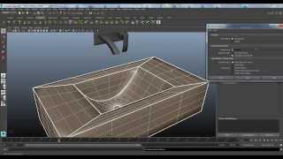 getlinkyoutube.com-Entertainment Creation Suite Workflow Part 2 - Maya 2015 Bifrost