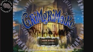 Let's Stream GrimGrimoire #1 - Dungeons & Drink Names