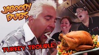 getlinkyoutube.com-Guy Fieri Dub: Turkey Trouble!