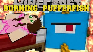 getlinkyoutube.com-Minecraft: BURNING RAINBOW FUN HOUSE (2 AMAZING HOUSES!) Mini-Game