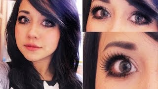 getlinkyoutube.com-maquillaje ojos expresivos ♥ Miku