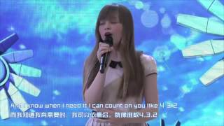 getlinkyoutube.com-Connie Talbot singing Count on Me in Beijing 29/05/13