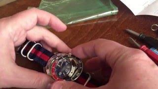 getlinkyoutube.com-Vostok watch customization