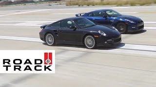 getlinkyoutube.com-The Two Second Club -- Bugatti, Nissan and Porsche | Road and Track