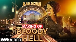 getlinkyoutube.com-Making of Bloody Hell Video Song | Rangoon |  | Saif Ali Khan, Kangana Ranaut, Shahid Kapoor