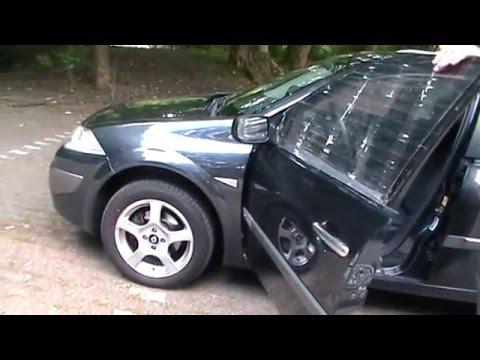 Renault Megane 2 - Стеклоподъёмник на водительской двери Glasschiebemotor