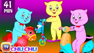 getlinkyoutube.com-Three Little Kittens Went To The Park - Nursery Rhymes by Cutians™ | ChuChu TV Kids Songs