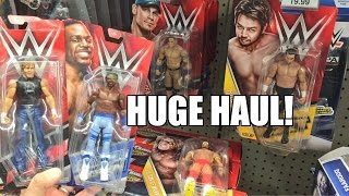 WWE FIGURES CHRISTMAS MOTHERLOAD TOY HUNT! Elite Aisle Unboxing Walmart ToysRus Target Shopping!