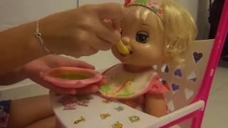 getlinkyoutube.com-Review- Cuidando da Bianca -  Minha Baby Alive