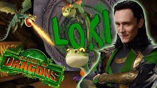 getlinkyoutube.com-Loki's Maze - School of Dragons