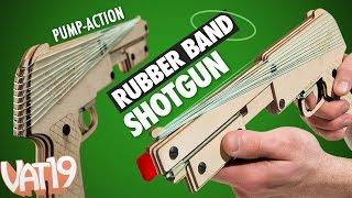 getlinkyoutube.com-Amazing Rubber Band Shotgun