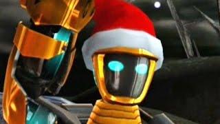 getlinkyoutube.com-Real Steel WRB FINAL Atom Santa Claus | Christmas UPDATE | GOLD NEW ROBOT (Живая Сталь)