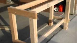 getlinkyoutube.com-How to Build a Workbench In Only A Few Steps