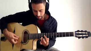 getlinkyoutube.com-Caravan - Gypsy Jazz Style Guitar