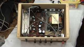 getlinkyoutube.com-Homemade Audio Amplifier Teardown