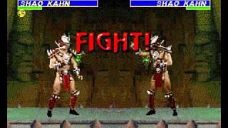 getlinkyoutube.com-Mortal Kombat Walkthrough Shao Kahn (hacked rom) Genesis
