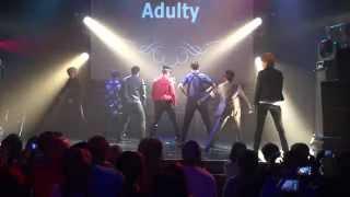 getlinkyoutube.com-Adulty cover dance「MONSTA X - Trespass」 2015.10.17