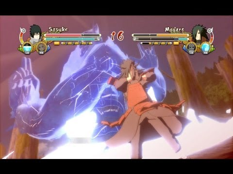 (PS3) EMS Sasuke vs Edo Madara Naruto Ultimate Ninja Storm 3