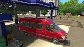 getlinkyoutube.com-City Car Driving Mercedes-Benz Sprinter 324 HD