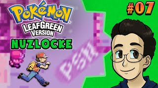 RACE TO THE POKEMON CENTER | Pokemon LeafGreen Nuzlocke, Part 7 - BGPR!