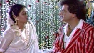 Jeetendra & Sridevi - Comedy Scene @ Himmat Aur Mehanat - Jeetendra, Shridevi, Shammi Kapoor