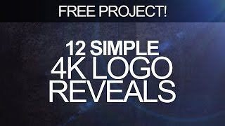 getlinkyoutube.com-Free Simple Logo Reveal Pack - After Effects Templates