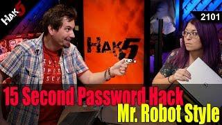 getlinkyoutube.com-15 Second Password Hack, Mr. Robot Style - Hak5 2101