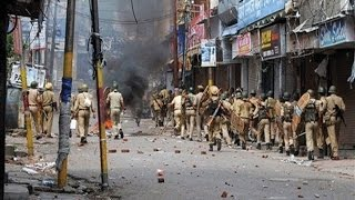 violence in Azamgarh police officer wounded bjp leaders