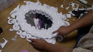 getlinkyoutube.com-Manualidades: Decora tu espejo - Juancarlos960