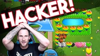 getlinkyoutube.com-Bloons TD Battles  | FACING A HACKER!  |  IS THIS GUY HACKING