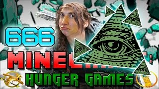 ILLUMINATI CONFIRMED! Minecraft: Hunger Games w/Bajan Canadian! Game 666