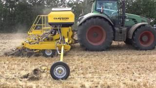 Claydon Hybrid Drill - Strip Tillage Technique