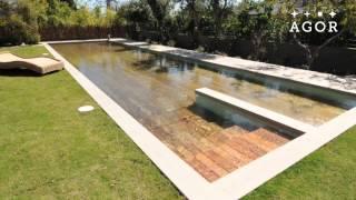 getlinkyoutube.com-Der versteckte Pool im Garten!