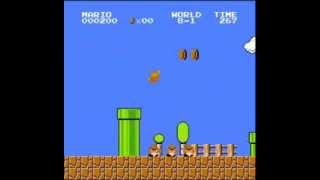 getlinkyoutube.com-Super Mario Bros. - 500 Point Run