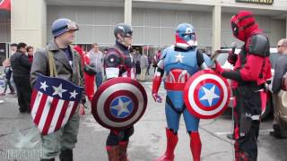 CAPTAIN AMERICA Cosplay: Past, Present and Star Wars