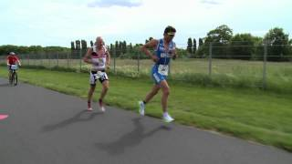 getlinkyoutube.com-Jenson Button amazing 35th place at 2013 Ironman 70.3 Berlin