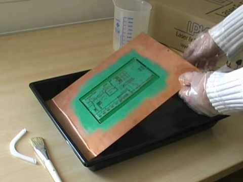 Apply a Solder-Resist Mask to PCBs (Printed Circuit Boards)