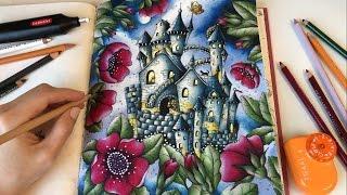 getlinkyoutube.com-Midnight | Carovne Lahodnosti (Magical Delights) Coloring Book by Klara Markova