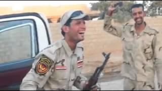 تحشيش عراقي رقص جنود في تكريت