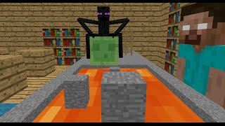 getlinkyoutube.com-Monster School: Obstacle Course - Minecraft Animation