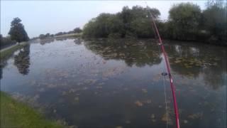 getlinkyoutube.com-Topwater Bass Fishing San Antonio TX November 2016