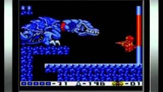 getlinkyoutube.com-Metroid II: Return of Samus 100% Walkthrough Part 19 - Boss Battle Queen Metroid and Ending