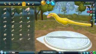 getlinkyoutube.com-How to make dinosaur in Spore