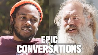 getlinkyoutube.com-Kendrick Lamar Meets Rick Rubin and They Have an Epic Conversation | GQ