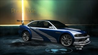 getlinkyoutube.com-BMW M3 GTR Most Wanted (NFS Undercover)
