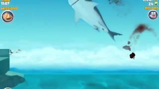 getlinkyoutube.com-Hungry shark evolution high score