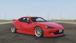 getlinkyoutube.com-GTA 5 - Airport Gymkhana Drift Montage (Rocket Bunny GT86)